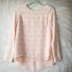 Pink Limited top